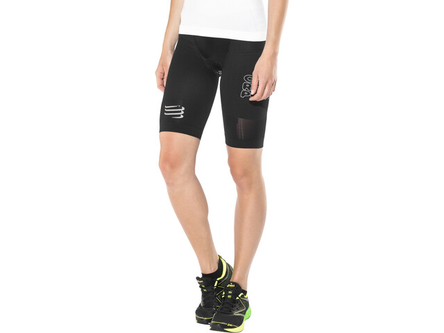 Compressport Triathlon Under Control Pantalones cortos Mujer, black
